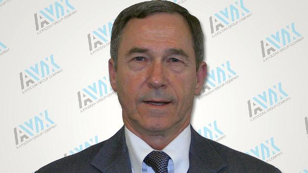 John Sarvis, CEO und President von AVX