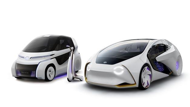 Toyota ergänzt seine Concept-i-Familie um zwei Mitglieder, die zur Tokio Motorshow vorgestellt werden.