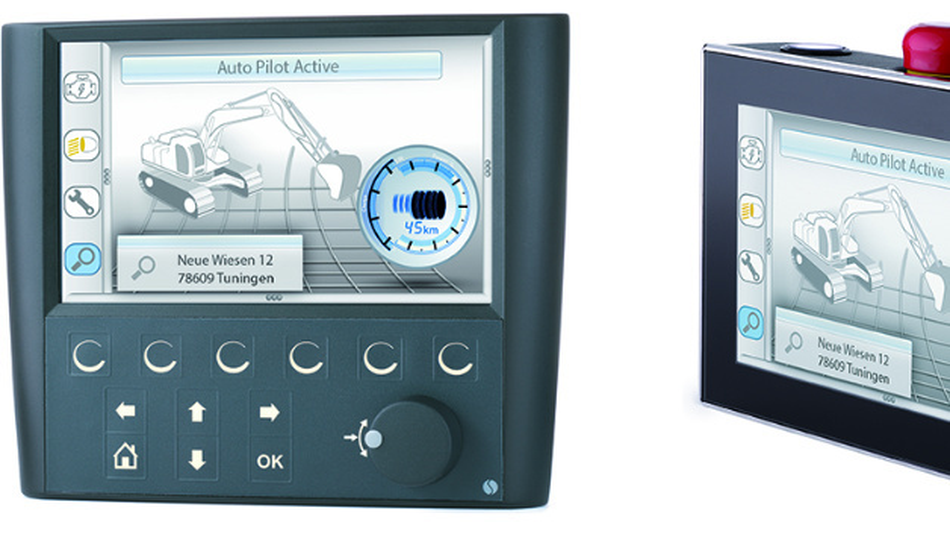 Bedien- und Steuergeräte vom Typ D3510 und D4510