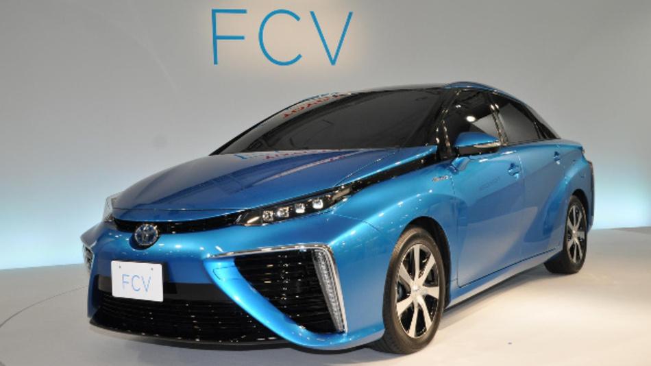 Der Mirai von Toyota fährt bereits auf Basis von Brennstoffzellen.
