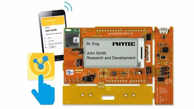 IoT-Enablement-Kit 4 mit Modul phyWAVE-KW41Z.