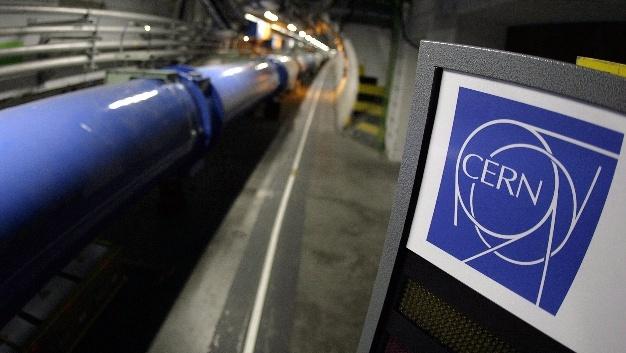 Teilchenbeschleuniger Large Hadron Collider (LHC) im Europäischen Kernforschungszentrum CERN bei Genf