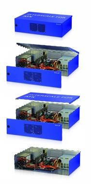 Modulare Interscale-Gehäusplattform auf Basis eines parametrischen Modells