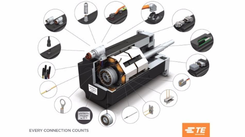 Intercontec-Steckverbinder von TE Connectivity bieten kundenspezifische Lösungen für verschiedene Motorplattformen
