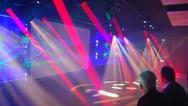 Beeindruckende Lichteffekte zauberte die Veranstaltungs- und Bühnentechnik von Osram und Clay Paky.