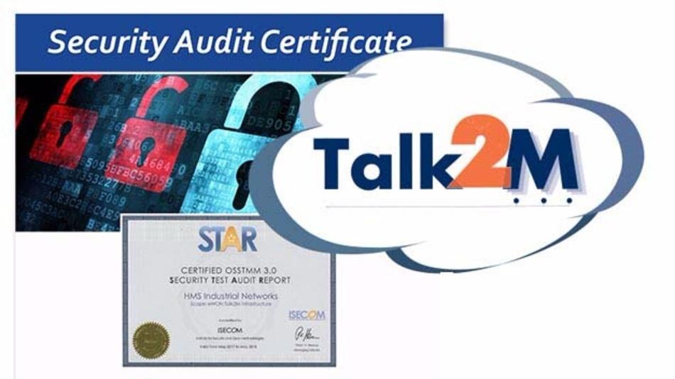Sicherheitszertifikat für Cloud-Dienst Talk2M