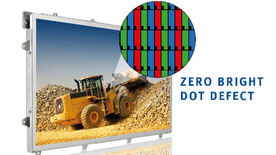 Bei KOEs Displays der Rugged+-Serie werden via IPS-Technik Betrachtungswinkel von bis zu 170 Grad erreicht.