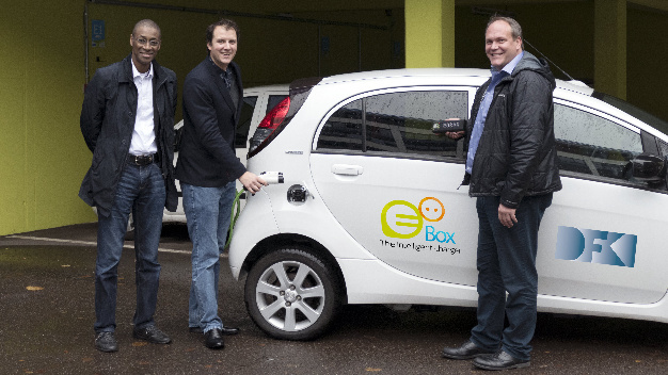 Das eoBox-Team: Dr. Alassane Ndiaye, Dr. Matthieu Deru, Dr. Boris Brandherm.