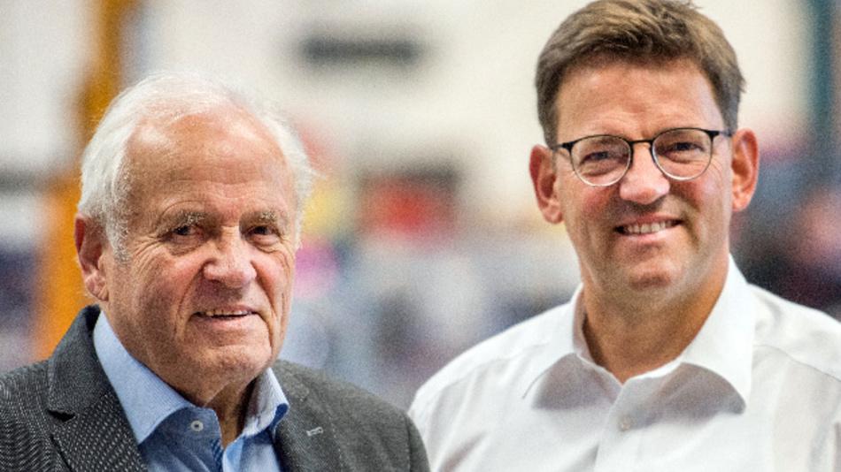 Die Machbarkeit und Perspektiven neuer Technologien erkennen und die Produkte erfolgreich im Markt platzieren, das sind die Stärken von Bernhard (l.) und Johannes Oswald.