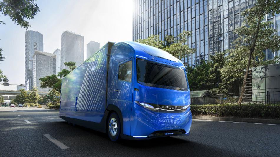 Konzept für schweren Lkw »Vision One« von E-Fuso.