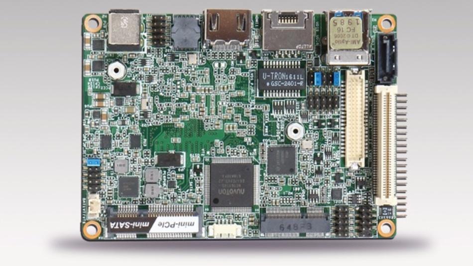 "Portwell setzt für ""PICO-6260"" auf Intels Apollo-Lake-SoCs."