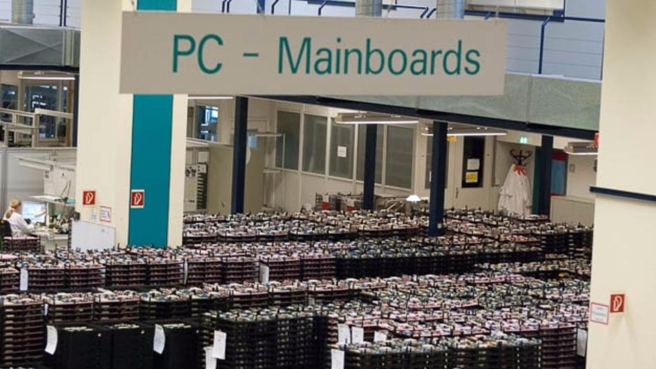 PC-Werk von Fujitsu in Augsburg
