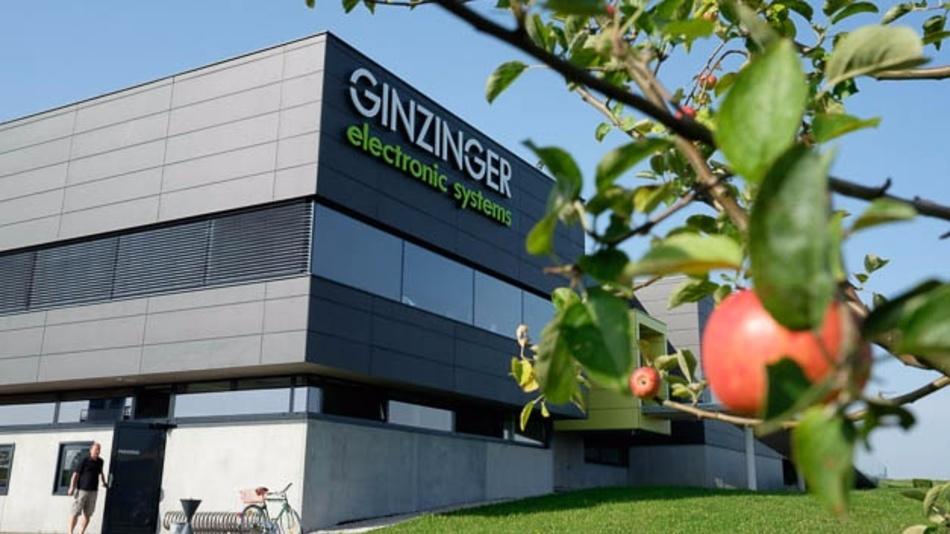 Firmensitz von Ginzinger electronic in Weng im Innkreis.