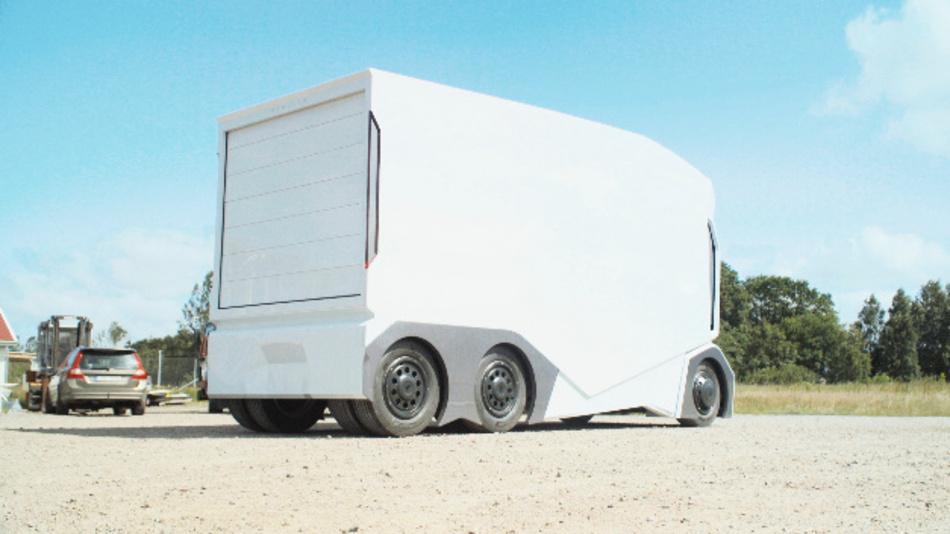 Der T-Pod bietet die Tragfähigkeit für bis zu 15 Standardpaletten.