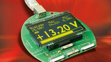 USB-Testboard für OLED-Displays