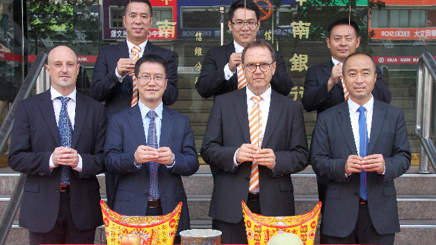 Mit einer feierlichen Zeremonie eröffneten Vertreter der Weidmüller Gruppe aus Detmold und China die neue Niederlassung in Taiwan.