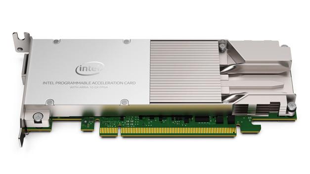 Die Beschleunigungskarte mit dem Arria-10-GX-FPGA