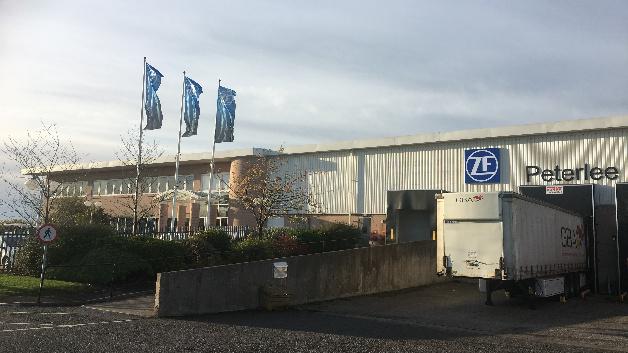 Das Werk von ZF in Peterlee (England).