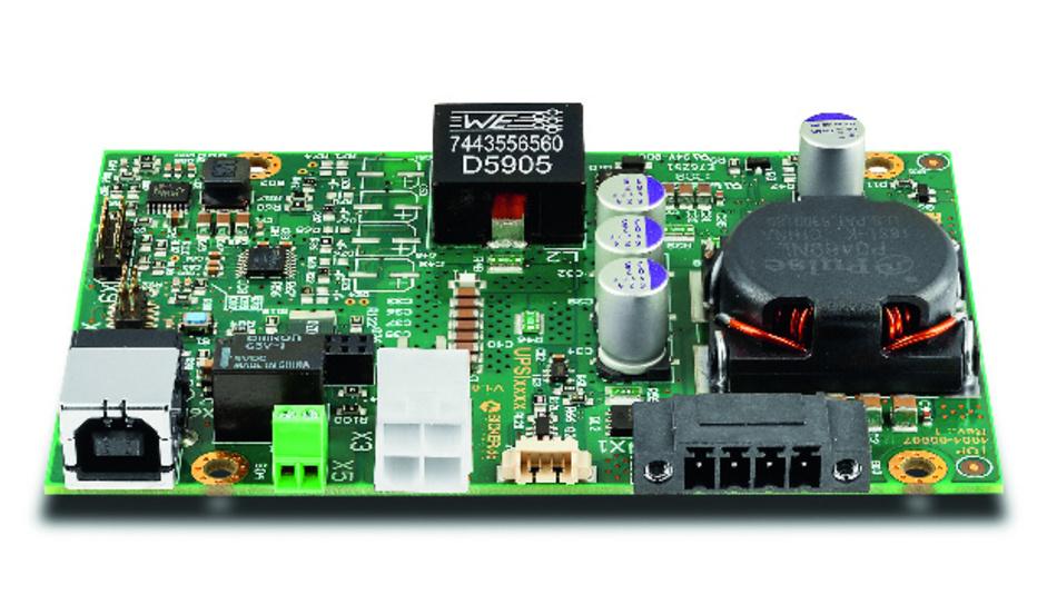 Die UPSi-xxxx von Bicker Elektronik ist eine DC-USV, die mit nur drei MOSFETs auskommt.