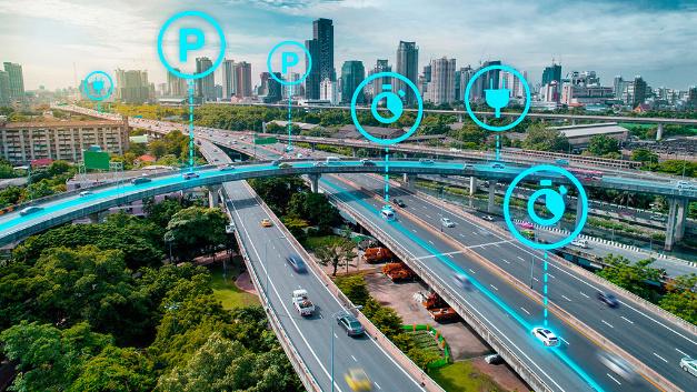 Weiterentwickelte Verkehrsoptimierung mit zahlreichen Variablen.