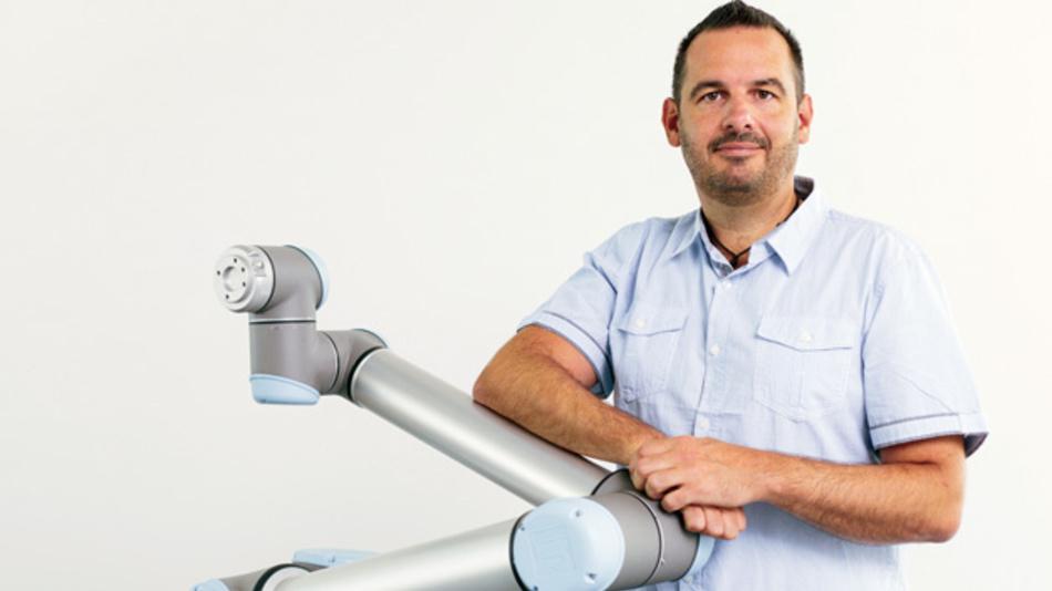 Andreas Schunkert, Universal Robots (Germany) GmbH »Die ISO TS 15066 ist inhaltlich ein guter Ansatz, wird aber in Deutschland noch viel zu oft geringgeschätzt.«