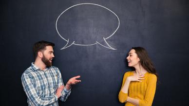 Kommunikation, Sprechblase