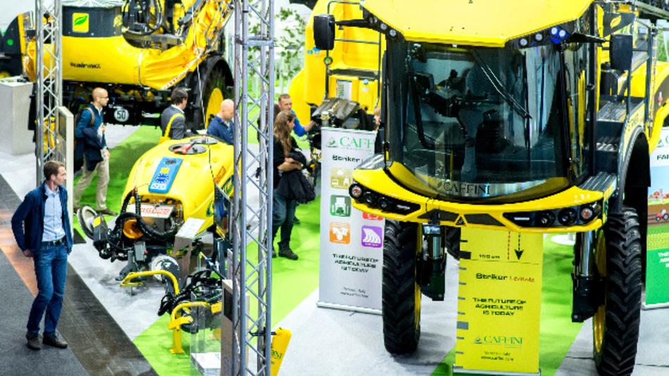 Firma Caffini auf der Landtechnik-Messe Agritechnica in der Messe Hannover