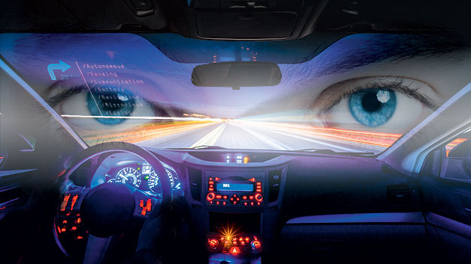 Autonomes Fahren über KI-basierte Bildverarbeitung.