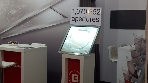 Becktronic auf der productronica 2017.