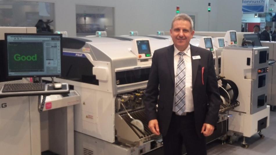 Klaus Gross, Geschäftsführer von Fuji Machine Europe