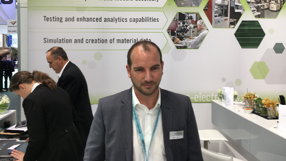 Bastian Schlüter, Heraeus Electronics: »Wir bekleiden die Entwicklung neuer Typen von Leistungsmodulen in unserem neuen Applikationszentrum bis zur Serienreife, und führen auch die entsprechenden Tests durch.«
