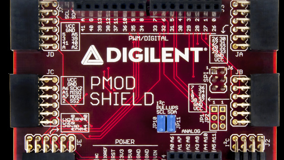 Reihe von Peripheriemodulen und Shields für das Arduino-Ecosystem