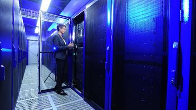 Rechenzentrum bietet oftmals eine große Angriffsfläche für Cyberkriminelle