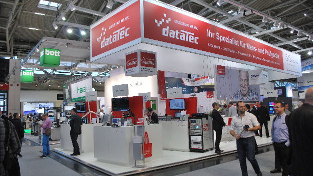 dataTec auf der productronica 2017