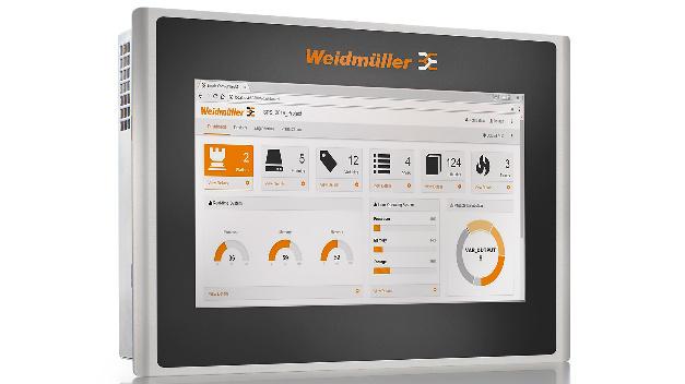 """Zum Automatisierungs-Portfolio """"u-mation"""" von Weidmüller gehören jetzt die HMI-Panels der Serie """"u-view""""."""
