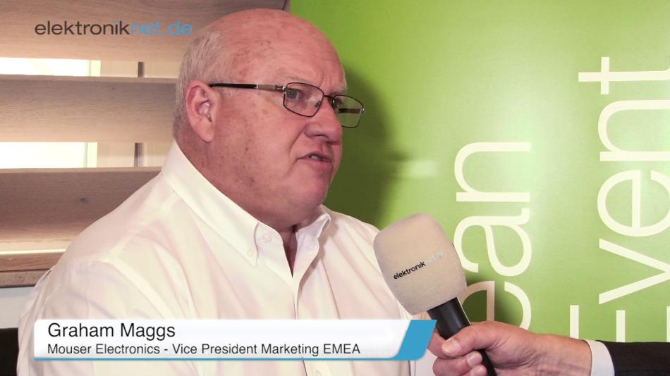 Graham Maggs, VP Marketing EMEA bei Mouser