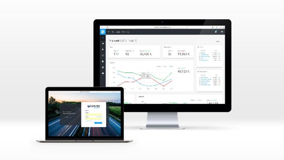 Browseransicht über die Aktivitäten auf dem Datenmarktplatz.