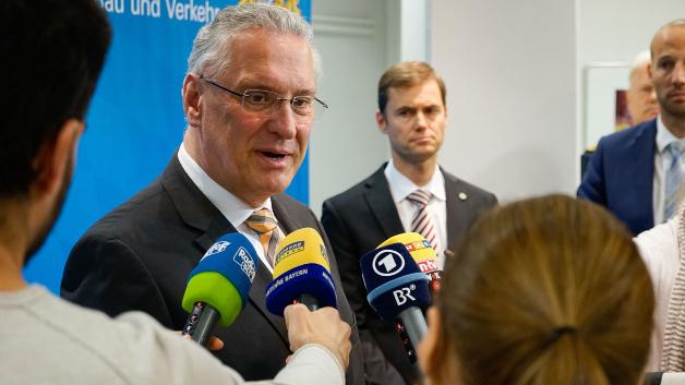 Bayerischer Innenminister Joachim Herrmann