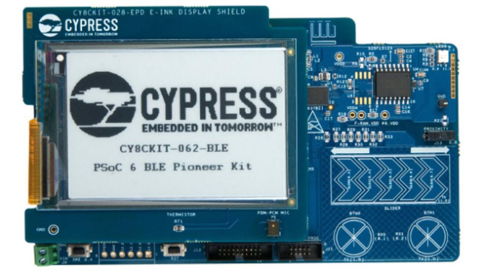 PSoC 6 BLE Pioneer Kit von Cypress Semiconductor
