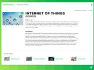 Trendbeschreibung zu IoT und die mit dem Thema verknüpften Trends.