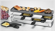 "Der Rommelsbacher Raclette Grill RC 800 ""fun for 4"""
