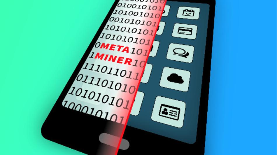 MetaMiner scannt Datenspuren auf dem Smartphone und schließt daraus, ob eine App Tracking verwendet.