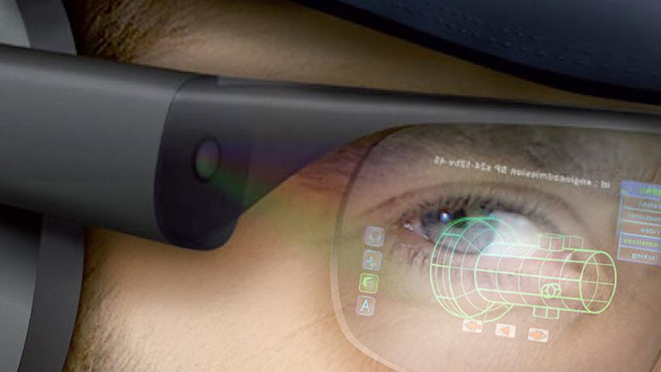 Das Konstrastverhältnis von 100.000:1 und die Helligkeit von 500 cd/m2 zeichnen Sonys miniaturisiertes OLED-Display aus.