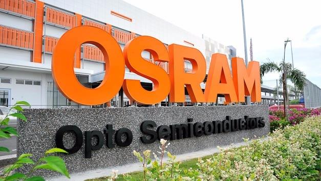 Osram-Werk in Kulim/Malaysia