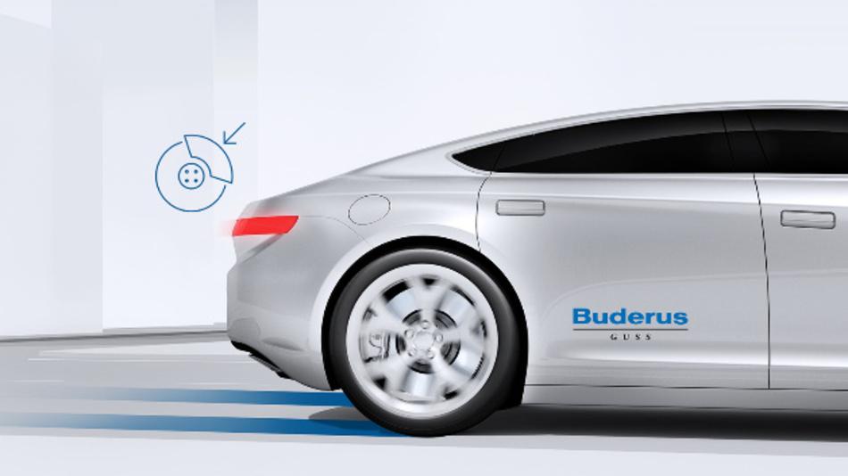Die glänzende Hartmetall-Beschichtung der iDisc ist optisch ansprechend. Zudem führt der reduzierte Bremsstaub zu weniger  Felgenverschmutzung.