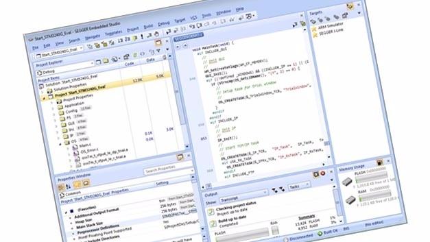 Entwicklungsumgebung Segger Embedded Studio