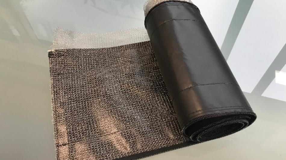 Isolierte Kabelabschirmung  mit Reiß- oder Klettverschluß
