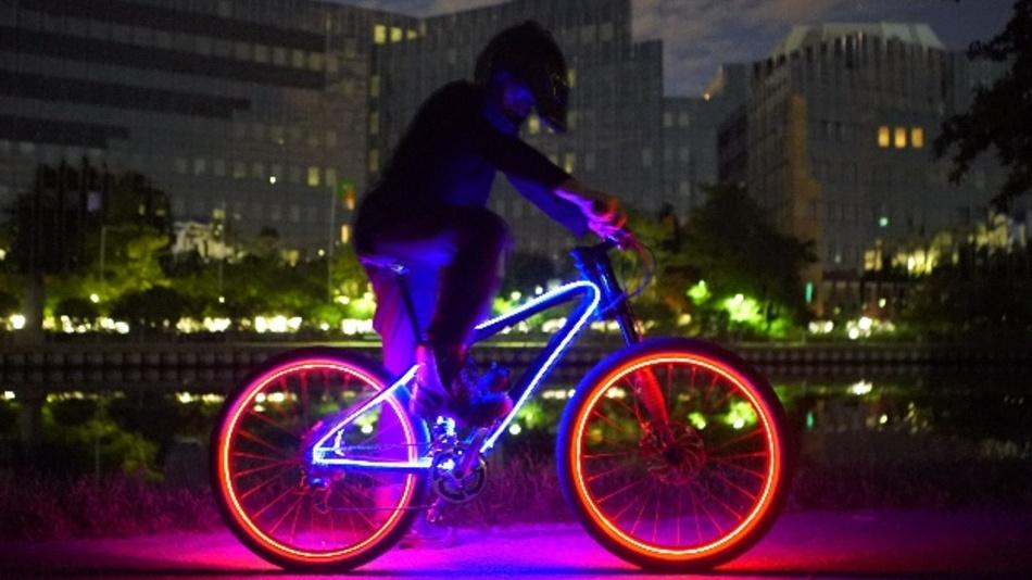 Optische Faser mit neuen Möglichkeiten für die Ambiente-Beleuchtung