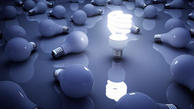 Bild 1. Leuchtstofflampen waren die ersten Lichtquellen in Massenproduktion, die kein kontinuierliches Spektrum erzeugten. Mit ihrem Auftreten Ende der 1960er Jahre wurden auch der CRI definiert, um die Farbwiedergabe dieser Art von Leuchten als Abweichung vom Ideal der Glühleuchten reproduzierbar zu ermitteln.