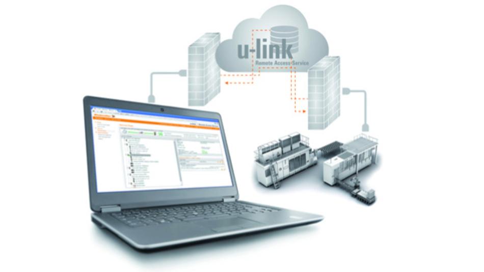 u-link von Weidmüller soll den Service vereinfacht und die Anlagenverfügbarkeit und -produktivität von Industrie-4.0-Systemen steigern.